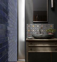 Wandtegel Artisan Colonial Blue