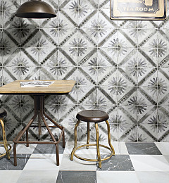 Portugese Vloertegel Marrakech Grey