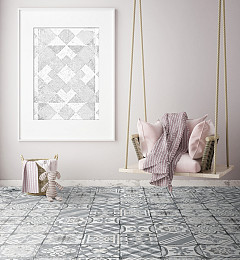 Marokkaanse Vloertegel Marrakesh Grey Mix