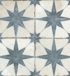 Portugese Vloertegel Star Blue