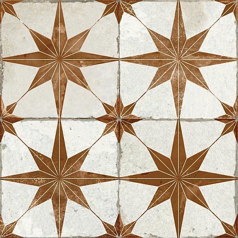 Portugese Vloertegel Star Oxide