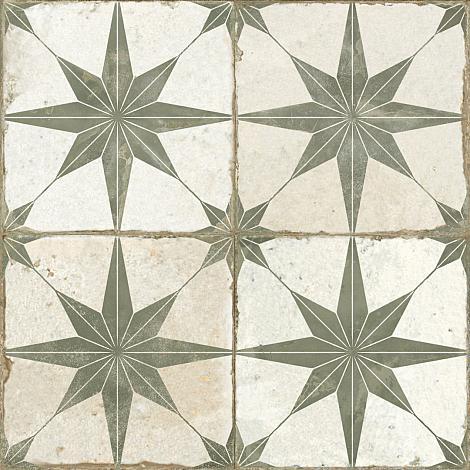 Portugese Vloertegel Star Sage