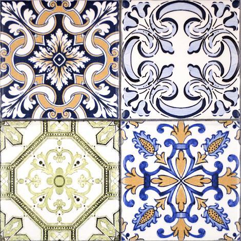Portugese Wandtegel Aragon Colors Decor Glans