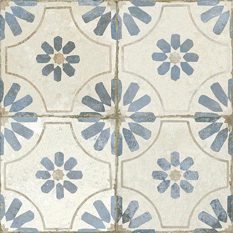 Vloertegel Blume Blue