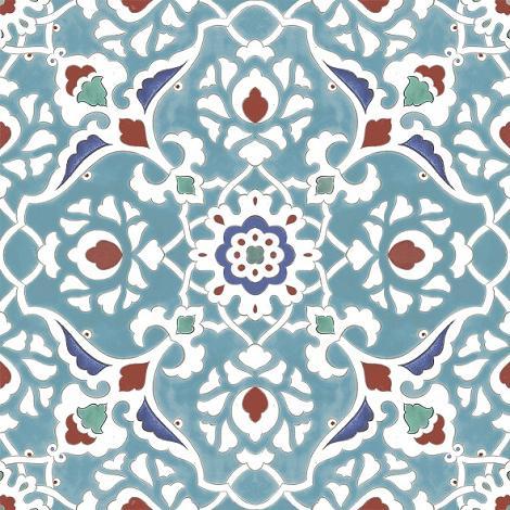 Marokkaanse Vloertegel Mercado Blue