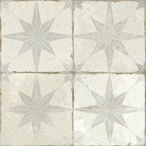 Portugese Vloertegel Star White