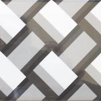 Metrotegel Black & White Decor Mix Glans