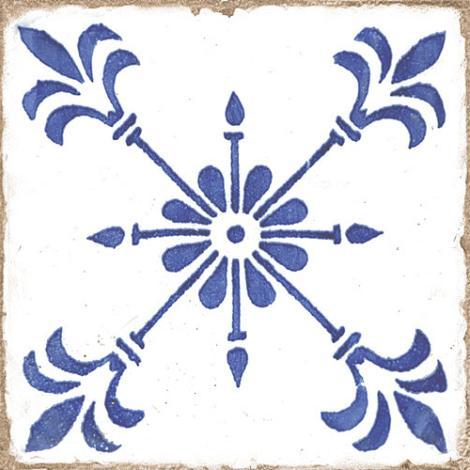 Wandtegel Oudhollands Handvorm Decor Glans