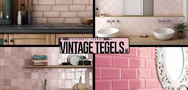 Vintage Tegels help me kiezen; ik zoek een roze tegel!