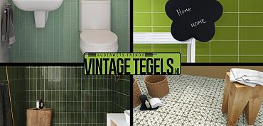 Vintage Tegels help me kiezen; ik zoek een groene tegel (deel2)!