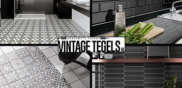 Vintage Tegels help me kiezen; ik zoek een zwarte tegel (deel2)!