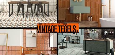 Vintage Tegels help me kiezen; ik zoek een oranje tegel!