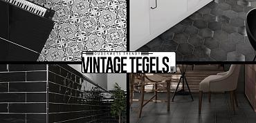 Vintage Tegels help me kiezen; ik zoek een zwarte tegel (deel3)!