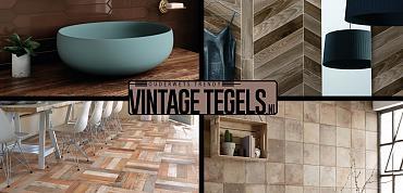 Vintage Tegels help me kiezen; ik zoek een bruine tegel(deel2)!