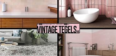 Vintage Tegels help me kiezen; ik zoek een roze tegel (deel2)!